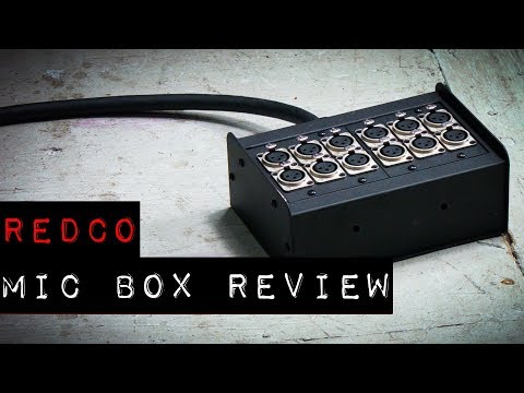 Redco Mic Box Review - DIY Audio Snakes