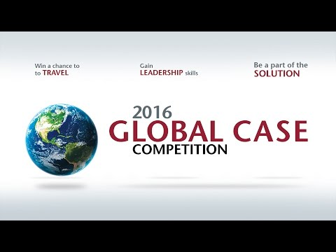 The 2016 Global Case Competition and Awards Ceremony