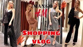 Shopping vlog Mango H M Образы на новый год 2020
