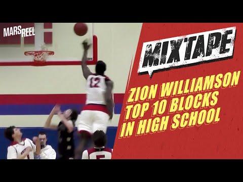 Top 10 Blocks: Zion Williamson SWATS EVERYTHING! 😱