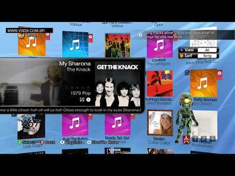 Lips: Party Classics (playlist / song list) - Microsoft Xbox 360 - VGDB