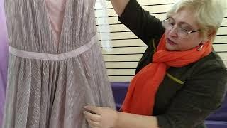 Вечернее платье в пол от Юдашкина. Обзор одежды Фаберлик (Faberlic). 79e6a15982c