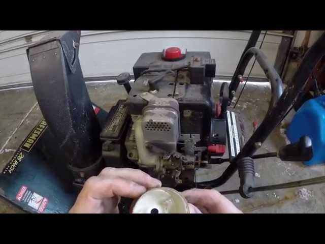 Craftsman Snowblower 9hp Carburetor Cleaning - YouTube