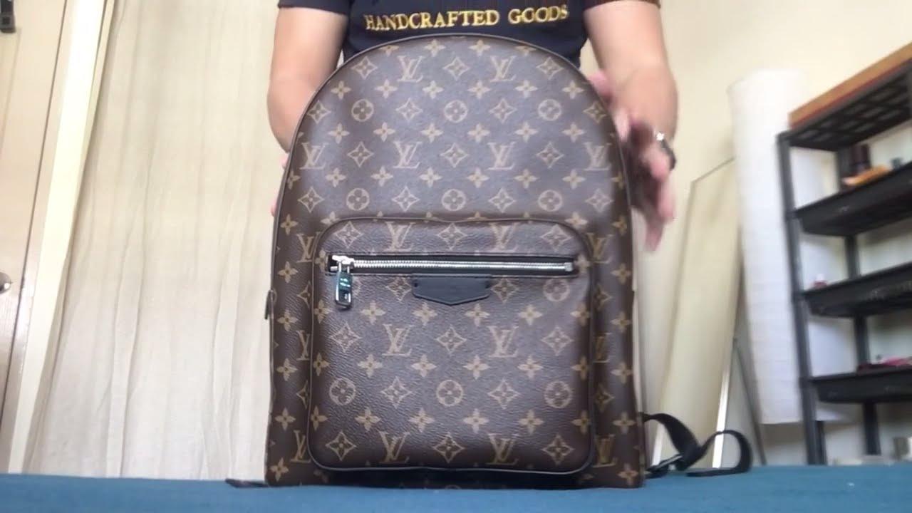 6f1e667aee9d Louis Vuitton Josh Monogram Macassar Backpack - YouTube