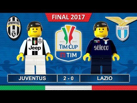 TimCup Final 2017 • Juventus vs Lazio • Finale TIM Cup • Lego Football Highlights Coppa Italia