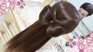 peinados de mariposa faciles para cabello largo bonitos y rapidos para niña en fiestas y la escuela