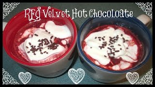 What's For Dessert? Episode 8: Red Velvet Hot Chocolate & Whipped Cream Topping