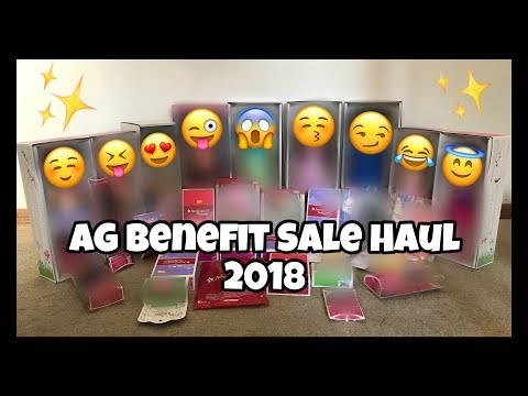 AMERICAN GIRL BENEFIT SALE HAUL 2018