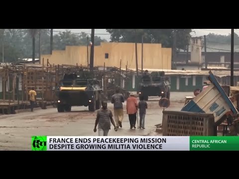 Mission complete? France shuts down peacekeeping op in war-torn Central African Republic