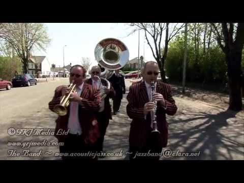 When The Saints Go Marching In  New Orleans style jazz funeral processi