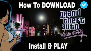How to download GTA Vice City original for PC [full game] | Hindi |