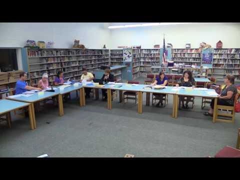 Winchester NH School Board Public Meeting 07-20-17