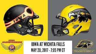 Week 14 | Iowa Barnstormers at Wichita Falls Nighthawks thumbnail