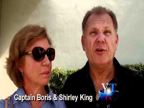 Yachting Today.TV interview with Captain Boris and mate Shirley King