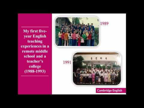 50 Years of English in China — a personal journey
