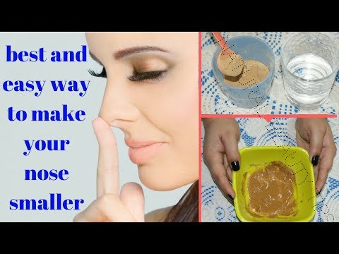 How to make nose smaller with toothpaste in hindi