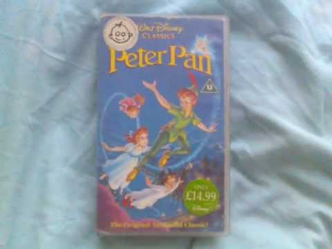 """Peter Pan"" UK VHS Retail Release"