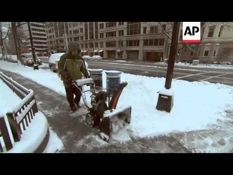 Another blast of winter weather for the Mid-Atlantic states