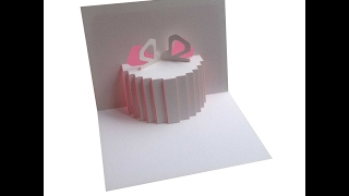 Parcel Pop Up Card Tutorial - Origamic Architecture