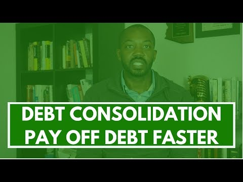 Debt consolidation, lower interest rate and pay off debt faster (MAYBE)