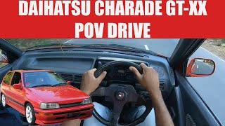 Daihatsu Charade GT XX POV Drive