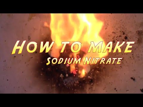 How to make Sodium Nitrate