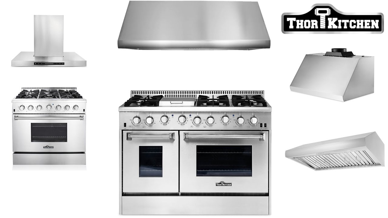 thor kitchen professional ranges at dvorson's (extended edition