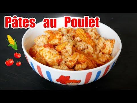 pâtes-au-poulet-sauce-tomate-🍅
