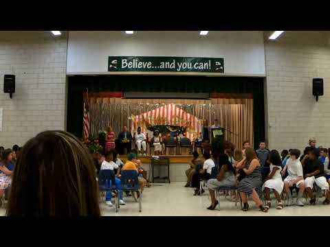 5th grade graduation at Rippling Woods Elementary School 2019