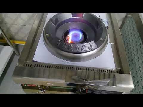 Kwalie range chinese wok with blower low pressure gas lpg murah 5 jutaan