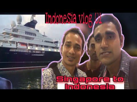 singapore to indonesia vlog 01/Singapore to Batam island indonesia/indonesia VLOG 01
