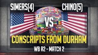 match 2 conscripts from durham simers 4 vs chino 5 wb r2 ti3