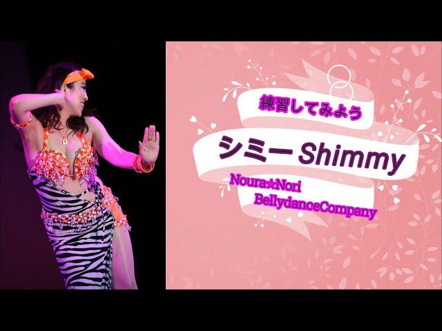 初めてのベリーダンス練習!【シミー Shimmy】