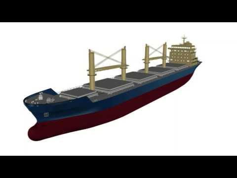 Althammer Studios - Hannover Leasing Bulker 3D Animation