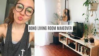 Konmari Method Declutter : BOHO Living Room | Julie Miranda