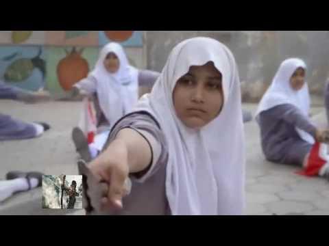 India Muslim Girls Fareeha Tafim Wushu Warrior..