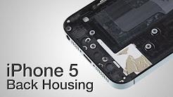 Back Housing Repair - iPhone 5 How to Tutorial