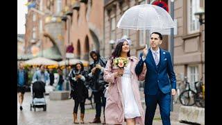 L.O.V.E: Sarai & Cesar 's Wedding in Copenhagen