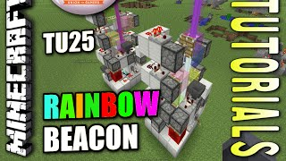 Minecraft PS4 - RAINBOW BEACON - How To - Tutorial ( PS3 / XBOX )