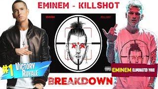 Killshot [Official Audio] Breakdown (Killshot Reaction) #Killshot #Eminem