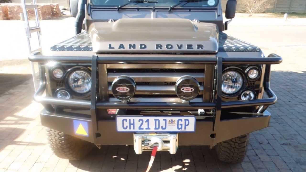Land Rover Defender Bullbar Youtube