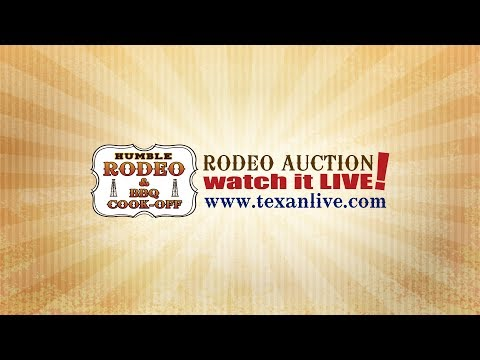 Watch the Humble RODEO - Livestock Auction LIVE 2-9-2018 1PM