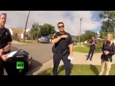 Thumbnail: Man confronts cops after they shoot his dog