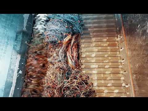 WEIMA WLK 1500 shreds plastic cables