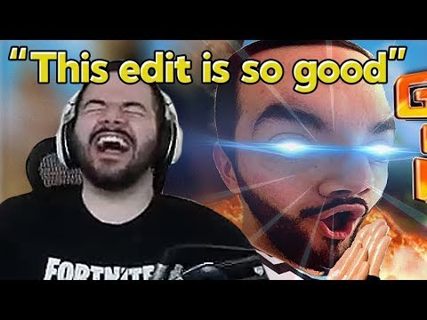 CouRage Reacts to Our Montage 'We Enhanced CouRage with this Fortnite Edit'