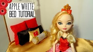 Apple White Bed Tutorial