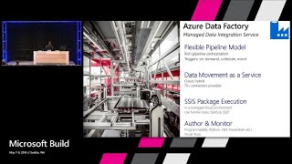 New capabilities for modern data integration in the cloud : Build 2018