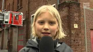 Die Kinderreporter bei der Feuerwehr Oldenburg