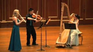 Debussy's Sonate for Flute, Harp, and Viola