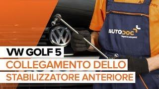 Come sostituire Barra accoppiamento VW GOLF V (1K1) - video gratuito online